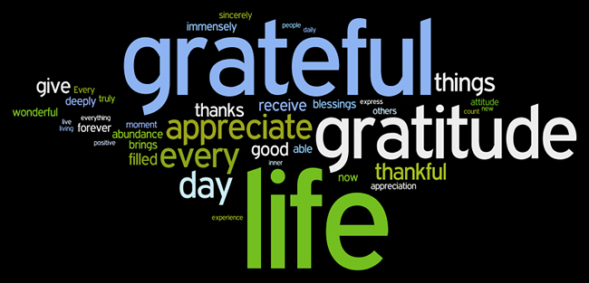 Do You Have A Gratitude List??