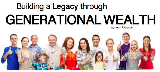 Creating Multi-Generational Wealth & Financial Freedom – 4 Part Series